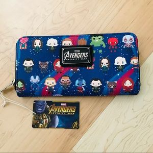NWT Loungefly Marvel Infinity War wallet